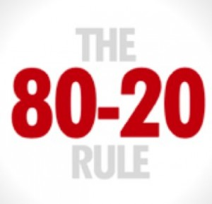 Putting The 80/20 Rule To Work For You