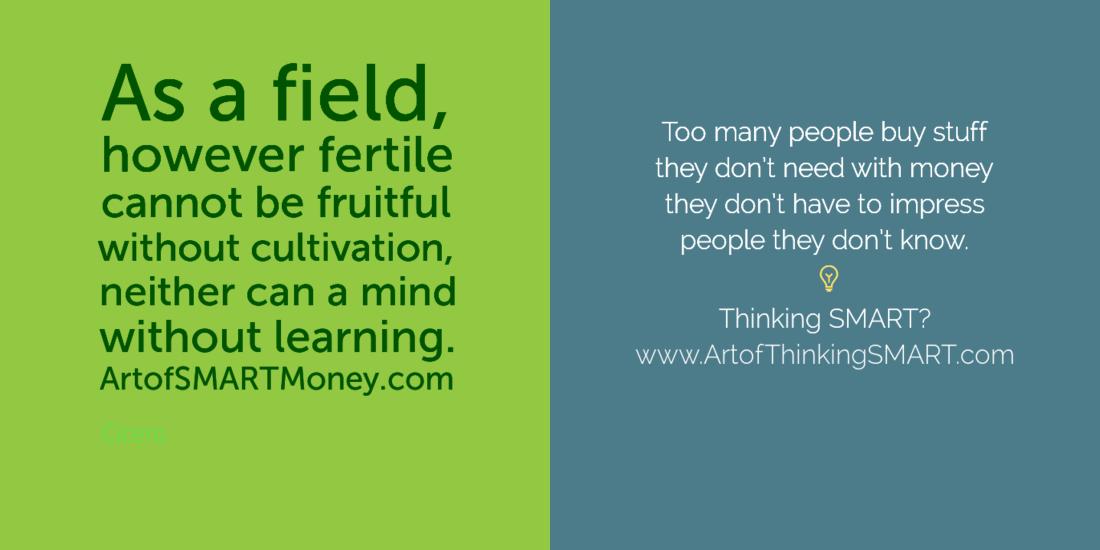 The Art Of Thinking Smart