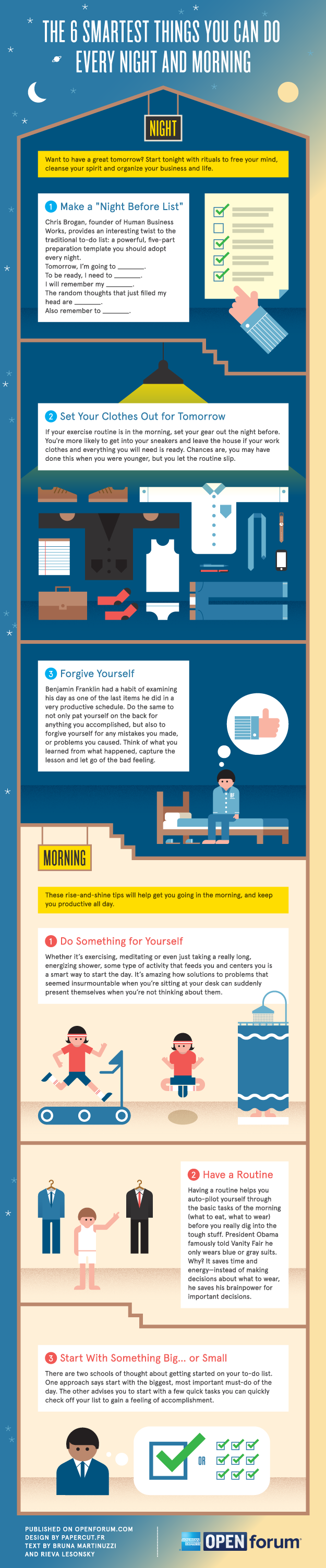 The 6 Smartest Things You Can Do Every Night and Morning