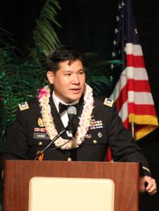 military speech