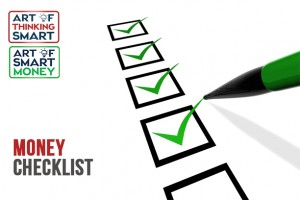 The Art of SMART Money Checklist