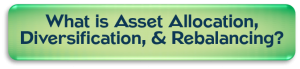 What is Asset Allocation, Diversification, and Rebalancing?