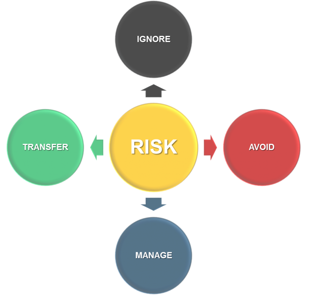 Four ways to deal with risk