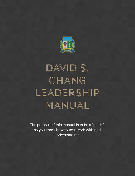 My Leadership Manual – Understanding Me